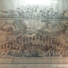 Arte: IMPORTANTE GRABADO DE LOS 26 MÁRTIRES DEL JAPÓN - JOSEF CAMARON DIBUJO - VALENCIA - 1794 - PELEGUER . Lote 149451522