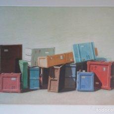 Arte: CRISTOBAL TORAL (CÁDIZ 40) GRABADO 2012 TITULADO: EMBALAJES PLANCHA 35X47 PAPEL 51X61 FIRMADO /250. Lote 149475965