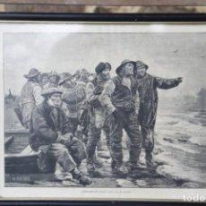 Arte: GRABADO ¨DOBLARÁ EL CABO¨ DE M. ARCHER. Lote 149666910