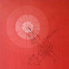 Arte: JOAN PONC: LA LUZ, AGUAFUERTE GOFRADO DE 1974. Lote 149695982