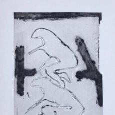 Arte: VICTOR MIRA . AGUAFUERTE CARBORUNDUM. 93 X 60 CM. Lote 149786974