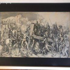 Arte: MARTIN SCHONGAUER . CHRIST CARRYING THE CROSS . CA 1475-1480. Lote 149801846