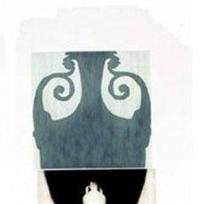Arte: GRABADO ORIGINAL DE JORDI CANO -GERRA B- FIRMADO Y NUMERADO 98 X 51 CM. Lote 150057774