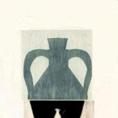 Arte: GRABADO ORIGINAL DE JORDI CANO -GERRA D- FIRMADO Y NUMERADO 98 X 51 CM. Lote 150057890