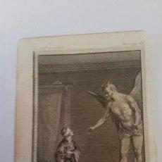 Arte: MARILLIER. GRABADO A BURIL. ESCENA DE LAS MIL Y UNA NOCHES SIGLO XVIII,. Lote 150125090