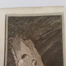 Arte: 1735. MARILLIER. GRABADO A BURIL. ESCENA GALANTE.. Lote 150123954