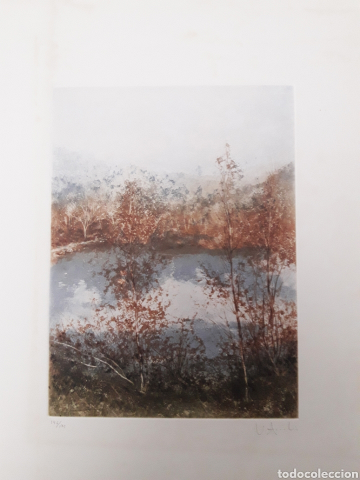 GRABADO FIRMADO Y NUMERADO (Arte - Grabados - Contemporáneos siglo XX)
