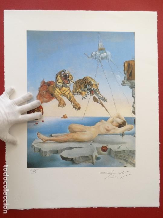 SALVADOR DALI -GRABADO FIRMADO Y NUMERADO 65X50CM --- LIQUIDACIÓN !!!! (Kunst - Druckgrafik - Zeitgenössische 20. Jahrhundert)