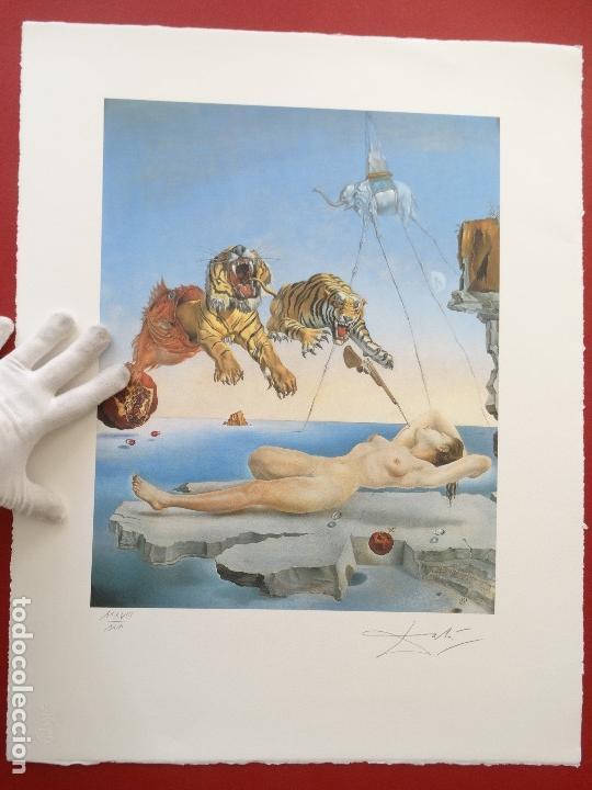 Kunst: Salvador Dali -grabado firmado y numerado 65x50cm --- LIQUIDACIÓN !!!! - Foto 6 - 151321050