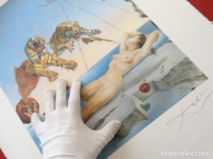 Kunst: Salvador Dali -grabado firmado y numerado 65x50cm --- LIQUIDACIÓN !!!! - Foto 3 - 151321050