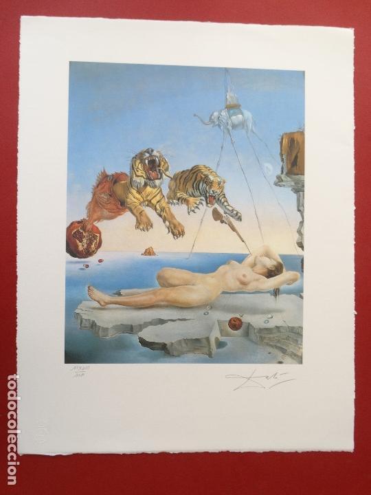 Kunst: Salvador Dali -grabado firmado y numerado 65x50cm --- LIQUIDACIÓN !!!! - Foto 4 - 151321050