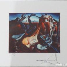 Arte: IMPRESIONANTE GRABADO DE DALI, ARAÑA DE LA NOCHE...ESPERANZA DE 1940,FIRMADO Y NUMERADO,50 X 65 CM. Lote 132143777