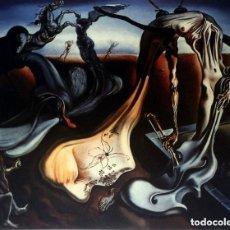 Arte: IMPRESIONANTE GRABADO DE DALI, ARAÑA DE LA NOCHE...ESPERANZA DE 1940,FIRMADO Y NUMERADO,50 X 65 CM. Lote 265147889