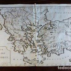 Arte: MAPA HISTÓRICO DE GRECIA DE 1729. Lote 151379218