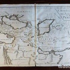 Arte: MAPA HISTÓRICO DE 1729. CARTE DE L'EMPIRE DES ASSIRIENS ET DES PERSES. Lote 151380458