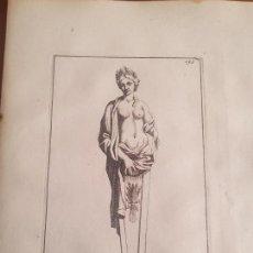 Arte: DIOSA CERES – MITOLOGÍA CLÁSICA - GRABADO FRANCÉS ORIGINAL DEL SIGLO XVII DE THOMASSIN – AÑO 1694. Lote 151494686