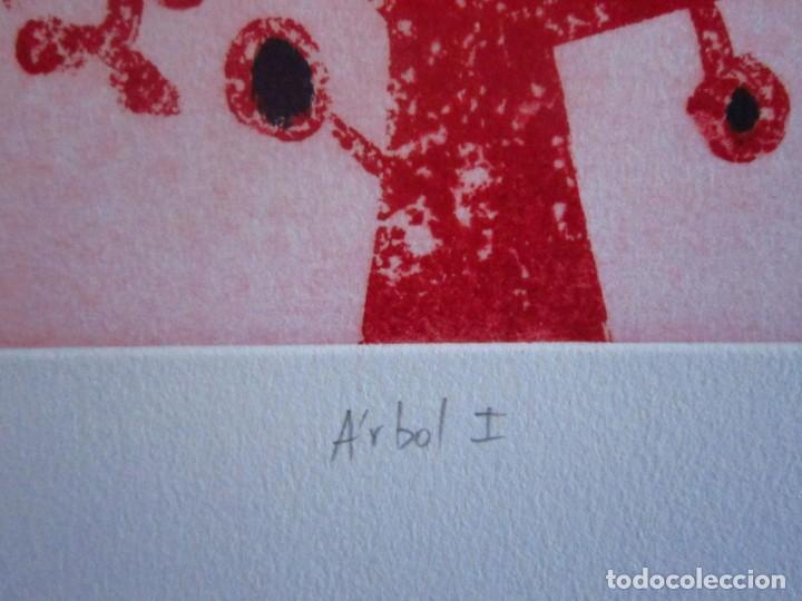 Arte: Árbol I Grabado de GAP (Guillermo Antón Pardo) - 28x38 cm - Foto 2 - 151522110
