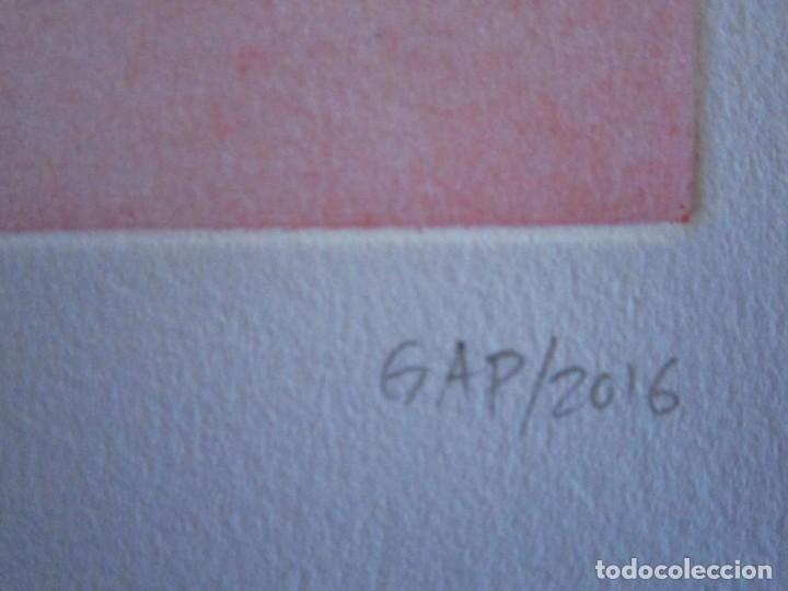 Arte: Árbol I Grabado de GAP (Guillermo Antón Pardo) - 28x38 cm - Foto 3 - 151522110