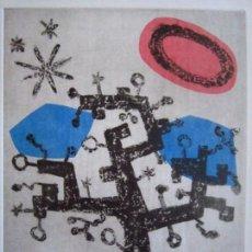 Arte: ÁRBOL I - GRABADO DE GAP (GUILLERMO ANTÓN PARDO) - 28X38 CM. Lote 151522782