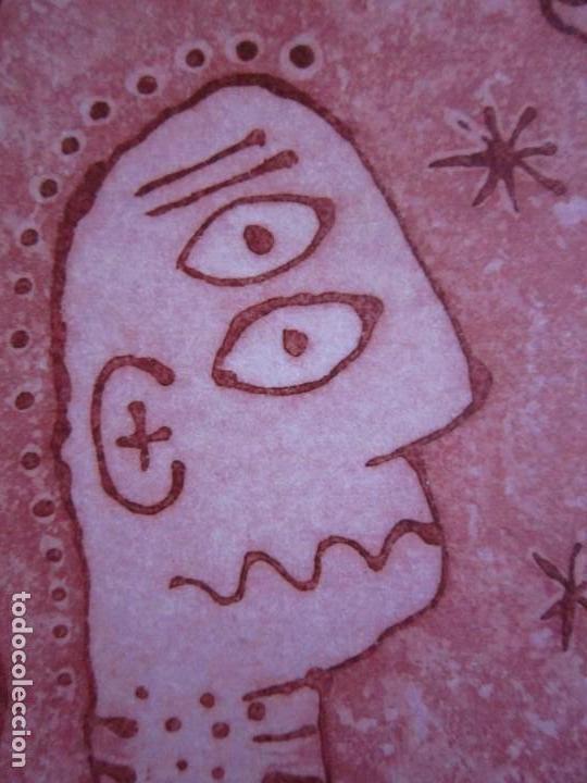 Arte: Personajes - Grabado de GAP (Guillermo Antón Pardo) - 26,5 x 29,5 cm - Foto 6 - 151524414