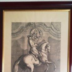 Arte: ANTIGUO GRABADO DE JOHAN ELÍAS RIDINGER, SOBRE 1750. Lote 152166500
