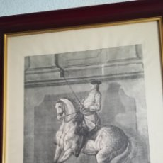 Arte: ANTIGUO GRABADO DE JOHAN ELÍAS RIDINGER, SOBRE 1750. Lote 152166861