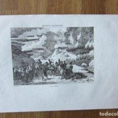 Arte: 1836- FRANCE MILITAIRE.GRABADO ORIGINAL.GUERRA INDEPENDENCIA.BATALLA DE SOMOSIERRA.MADRID. Lote 152202898