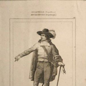 Inglaterra (República) Olivier Cromwel 24x30 cm