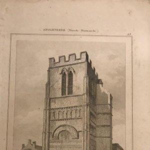 Inglaterra. (Periodo Normando). Iglesia St. Pierre Northampton 12,4x20 cm