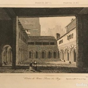 Francia (s.XI). Cloine de Notre Dame, du Puy 24x30 cm