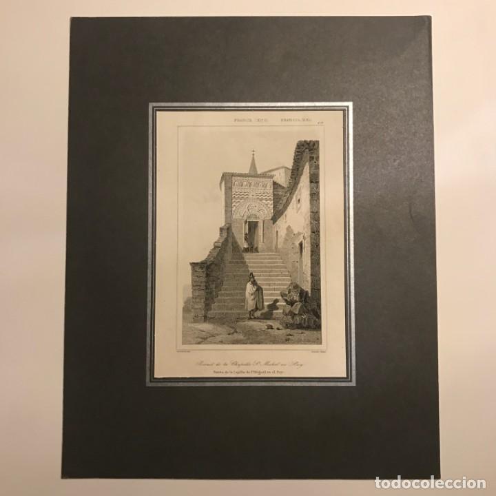 Arte: Francia (s.XI). Puerta de la Capilla de San Miguel en el Puy 24x30 cm - Foto 2 - 152310142