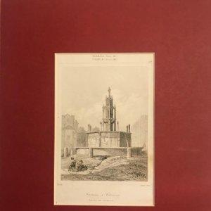 Francia (s.XII). Fuente en Clermont 24x30 cm