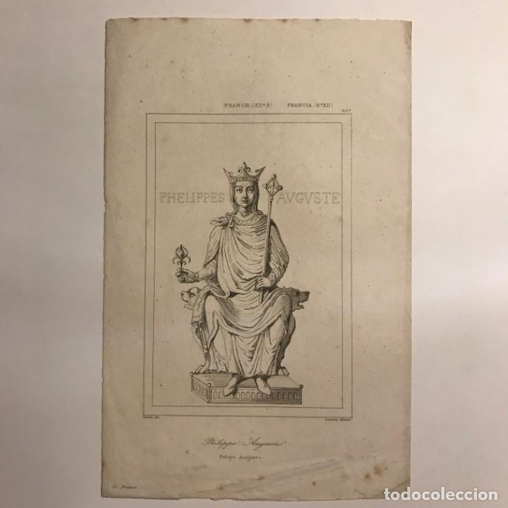 Arte: Francia. (s.XII) Felipe Augusto 13,8x21,5 cm - Foto 2 - 152317822