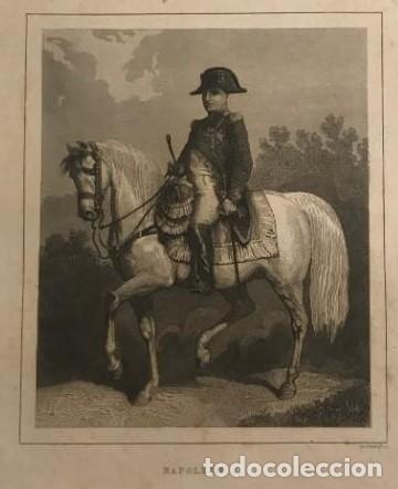 FRANCIA. NAPOLEÓN 1. 15,2X24,7 CM (Arte - Grabados - Modernos siglo XIX)