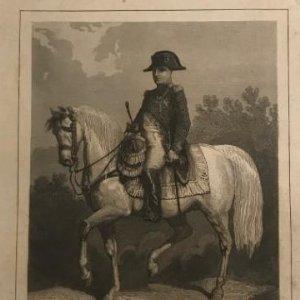 Francia. Napoleón 1. 15,2x24,7 cm
