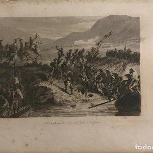 España. Los españoles desembarcan en Africa 16,4x23,8 cm