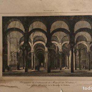 España. Visita general del interior de la Mesquita de Córdoba 13,8x21 cm