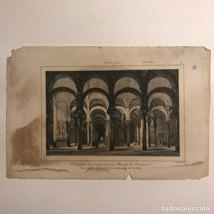 Arte: España. Visita general del interior de la Mesquita de Córdoba 13,8x21 cm - Foto 2 - 152339302
