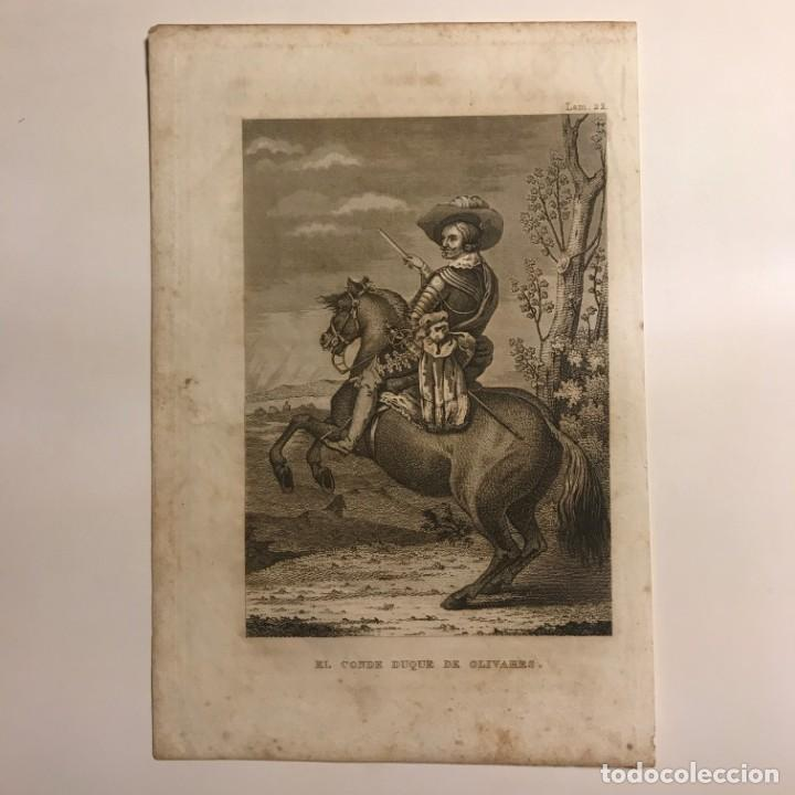 Arte: España. El Conde Duque de Olivares 14,2x21 cm - Foto 2 - 152339566