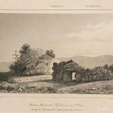 Arte: ALEMANIA. ANTIGUOS MONUMENTOS SEPULCRALES DE ALSACIA 24X30 CM. Lote 152345314