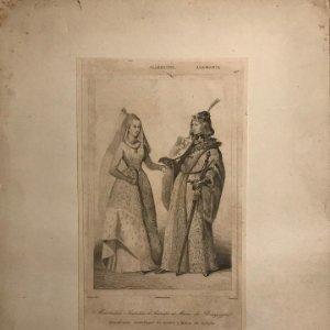 Alemania. Maximiliano Archiduque de Austria y María de Borgoña 22x29 cm