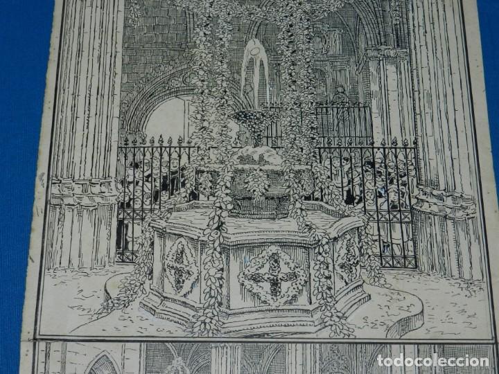 Arte: (M) DIBUJO ORIGINAL DE E MARTINELL 1929 LOU COM BALLA SURTIDOR ST JORDI SEU DE BARCELONA - Foto 4 - 152417530