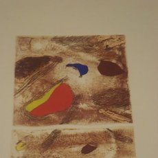 Arte: JOSEP GUINOVART ( BCN 1927 - 2007 ) - ANY 1995 - 49 X 38 CM. Lote 152459510