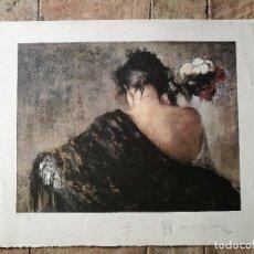 Arte: GRABADO JOHAN CRUYFF WELFARE FOUNDATION. CONCEBIDA POR CAYETANO DE ARQUER BUIGAS.ORIGINAL REF-D. Lote 152471994