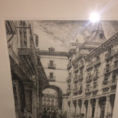 Arte: PLAZA MAYOR DE MADRID /ALBERTO ZIEGLER. Lote 152482541