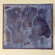 Arte: PICASSO - GRABADO ORIGINAL FIRMADO A MANO - DESAYUNO SOBRE LA HIERBA - 44 X 29 CM.. Lote 152530922