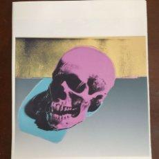 Arte: GRABADO ORIGINAL DE ANDY WARHOL,CRANEO,NUMERADO A LAPIZ,CON FIRMA Y MARCA DE AGUA,57X38 CMS. Lote 55103614