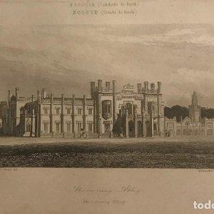 Escocia. (Condado de Perth). Abercairnay Abbey 20,8x12,6 cm