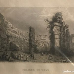 Italia. Roma. Coliseo de Roma 24x30 cm