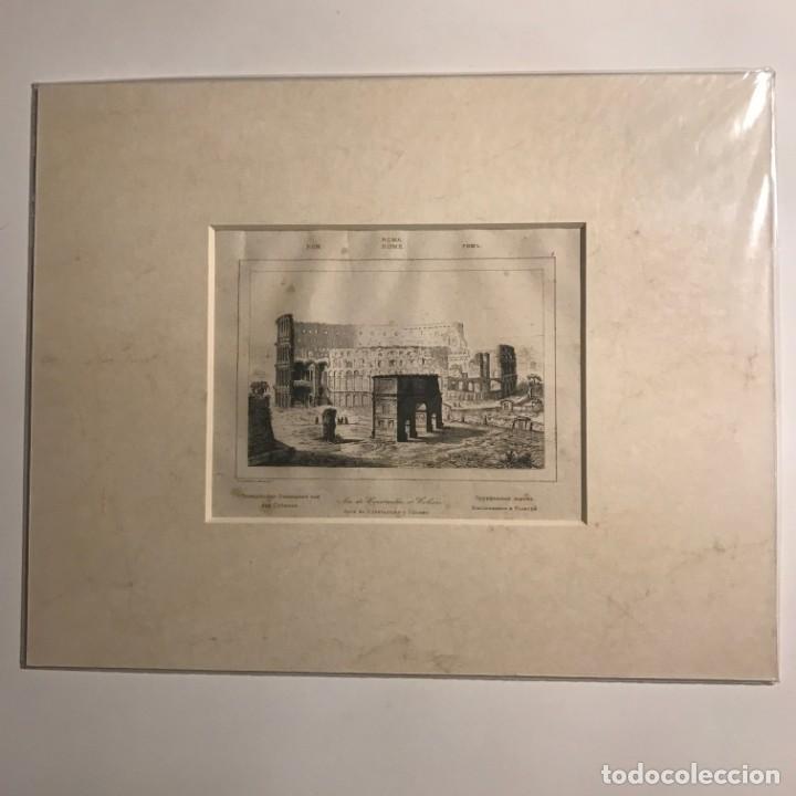 Arte: Italia. Roma. Área de Constantino y Coliseo 24x30 cm - Foto 2 - 152653582